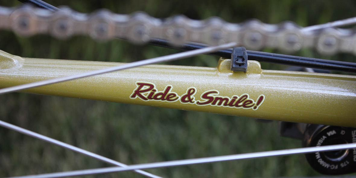 Ride and smile!