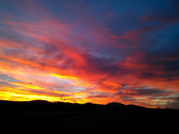 Sunset, November 17, 2011