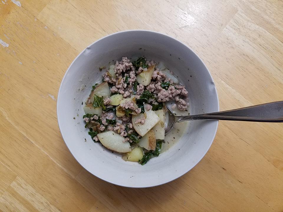 Paleo zuppa toscana