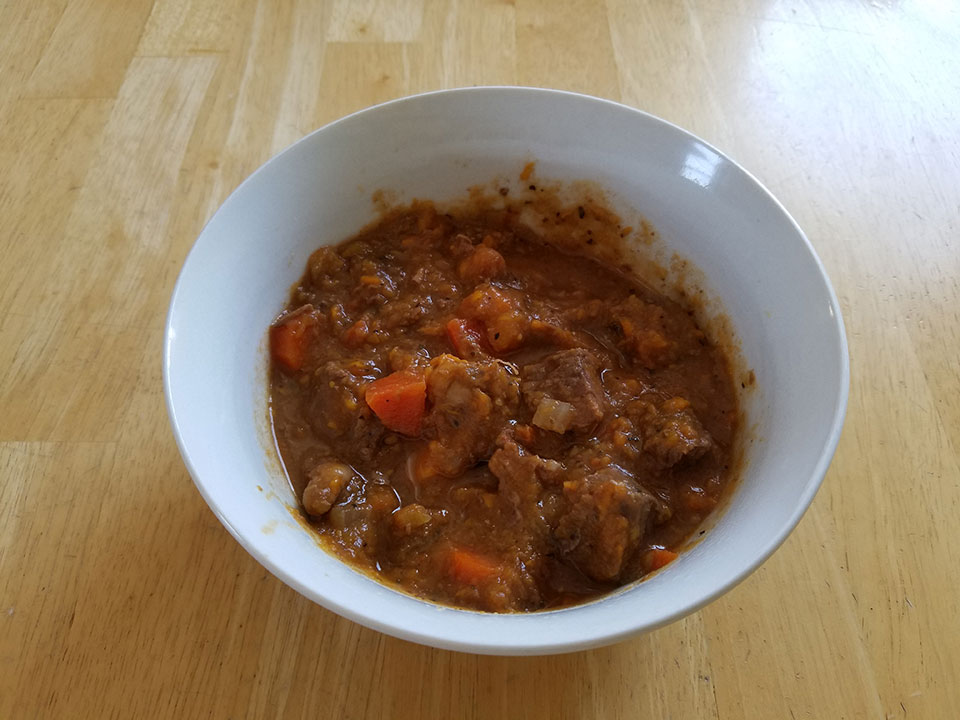 Paleo winter beef stew