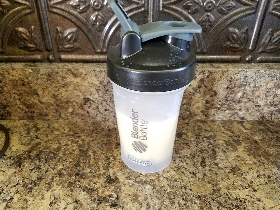 Protein, vanilla collagen shake
