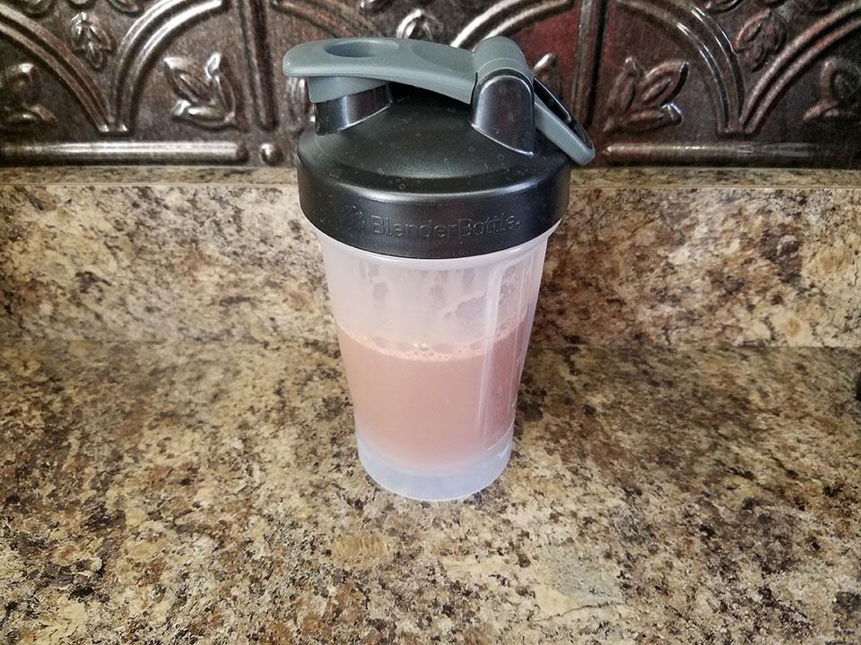 Protein collagen cacao shake